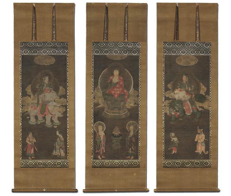 Shakyamuni Triad