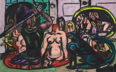Perseus' Last Duty, 1949. Max Beckmann (German, 1884-1950). Oil on canvas, 89.4 x 142 cm. The Cleveland Museum of Art