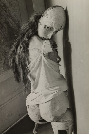 The Doll, 1936. Hans Bellmer (German, 1902–1975). Gelatin silver print; 7.8 x 11.8 cm. The Cleveland Museum of Art, John L. Severance Fund 2007.27. © 2013 Artists Rights Society (ARS), New York / ADAGP, Paris.