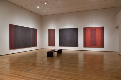 Rothko in Pompeii installation