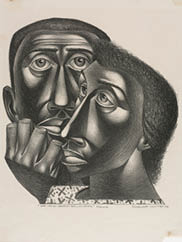 We Have Been Believers, 1949. Charles White (American, 1918–1979). Lithograph; 40.5 x 30.2 cm. The Cleveland Museum of Art, John L. Severance Fund 2001.50. © Charles White.
