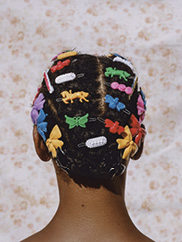Adeline in Barrettes, 2018. Image courtesy of Aperture, New York, 2019. © Micaiah Carter