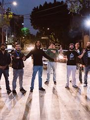 Image of Orquesta el Macabeo. Photo courtesy Multiflora Productions.