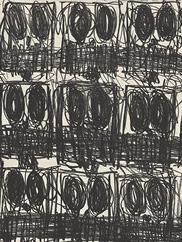 Untitled Anxious Crowd. By Rashid Johnson. CMA, 2020.78