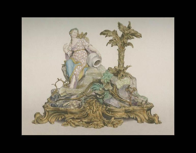 Sèvres soft-paste figure, 1761, Le Biscuit de Sèvres: Recueil des Modeles de la Manufacture de Sèvres au XVIIIe Siècle