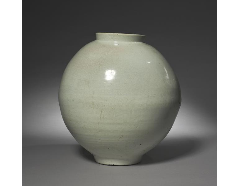 Jar, 1700s. Korea, Joseon dynasty (1392–1910). The Cleveland Museum of Art, 1983.28