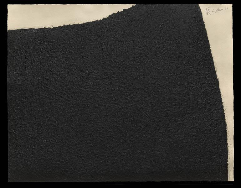 IV Hreppholar, 1991. Richard Serra (American, b. 1939). Etching; 79.2 x 100.5 cm. The Cleveland Museum of Art, Gift of the Print Club of Cleveland in honor of Brenda and Evan H. Turner 1993.219. © 2015 Richard Serra / Artists Rights Society (ARS), New Yor