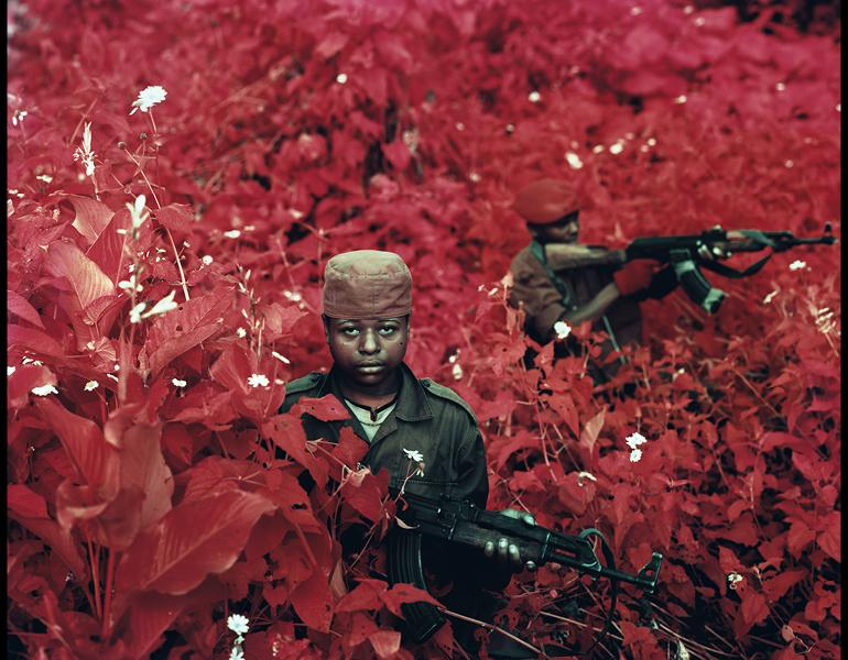 Vintage Violence, North Kivu, Democratic Republic of Congo, 2011. Richard Mosse (Irish, b. 1980). Digital C-print; 182.9 x 228.6 cm. Courtesy of the artist and Jack Shainman Gallery, New York