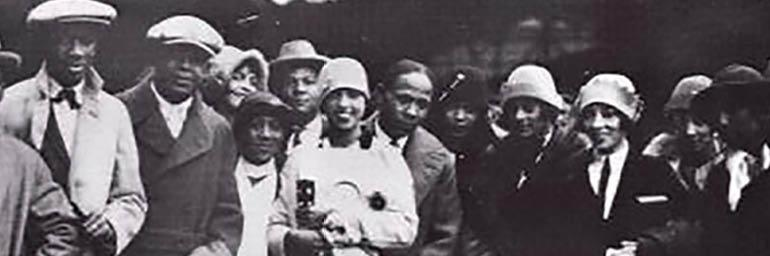 """Image from """"Paris Noir: African-Americans in the City of Light"""""""