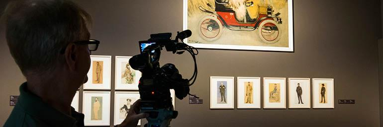 """Image from """"Exhibition on Screen — Young Picasso"""""""
