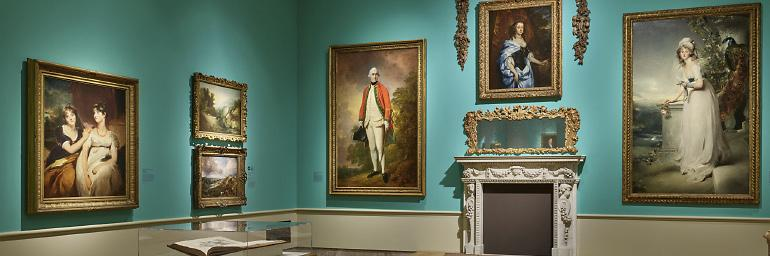 British Galleries. Photo by Howard Agriesti / The Cleveland Museum of Art
