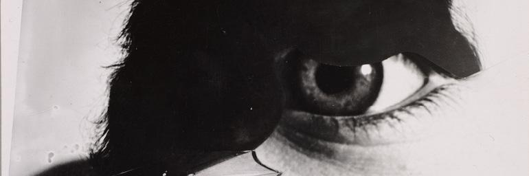Photo Eye (Foto-Auge) (detail),1927, printed 1938–40. Anton Stankowski (German, 1906–1998). Gelatin silver print, montage, from negatives with handwork; 10.9 x 14.5 cm. The Cleveland Museum of Art, John L. Severance Fund 2007.122. © Stankowski-Stiftung