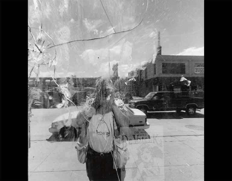 Denver, Colorado, 1998. Lee Friedlander (American, born 1934). Gelatin silver print; 37.8 x 37.4 cm. The Museum of Modern Art, New York, Gift of the photographer. © 2009 Lee Friedlander