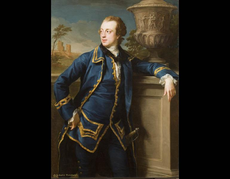 Portrait of John Wodehouse, 1764. Pompeo Batoni (Italian, 1708–1787). Oil on canvas; 137.3 x 99.8 cm. Allen Memorial Art Museum, Oberlin College, Oberlin, Ohio, Mrs. F.F. Prentiss Fund 1970.60