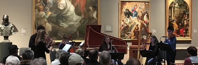 Chamber Music in the Galleries