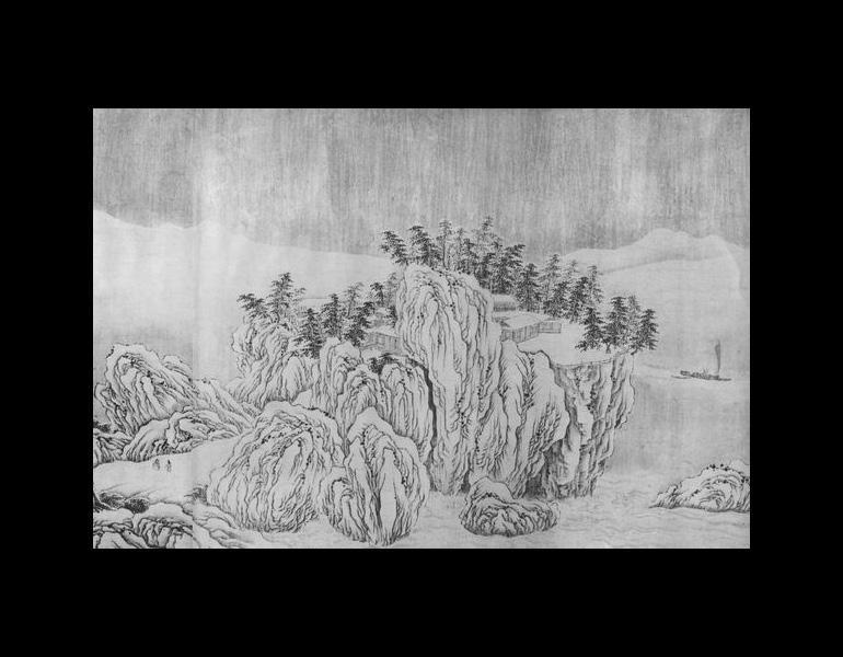 Chang Jiang ji xue tu by Wang Wei (699-759), part 1.