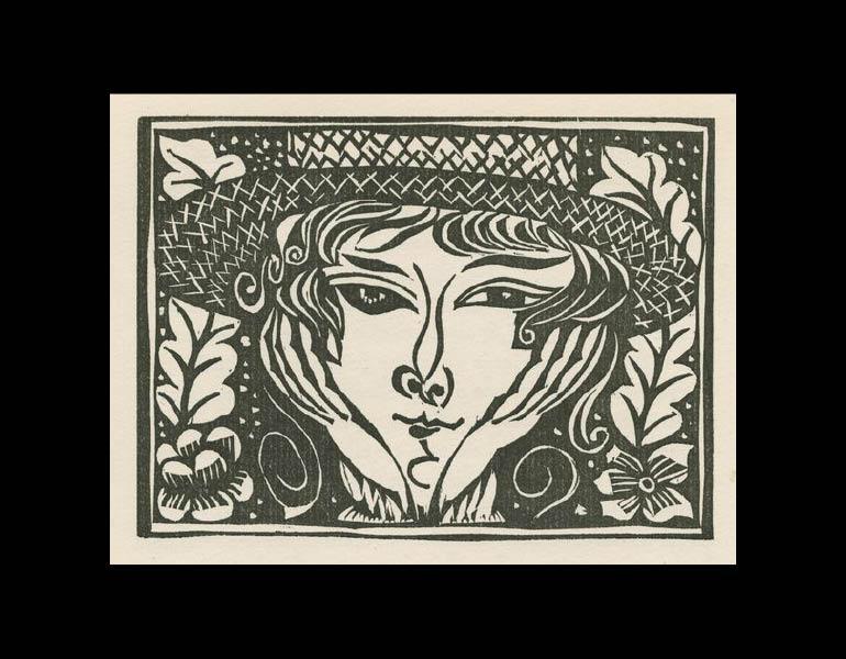 Les Feuillets d' Art, Volume II, le feuillets littérares, onré de bois originaux de Raoul Dufy, 1. IML 985377