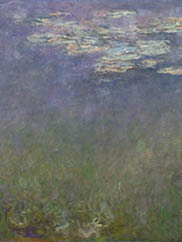 Water Lilies (Agapanthus), c. 1915-1926, Claude Monet (French, 1840-1926). The Cleveland Museum of Art 1960.81.