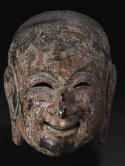 Gigaku Mask: Suikojū, 710–94. Japan, Nara period. John L. Severance Fund, 1949.158