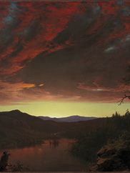 Twilight in the Wilderness, 1860. Frederic Edwin Church. Mr. and Mrs. William H. Marlatt Fund, 1965.233